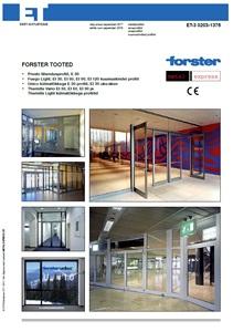 Forster kataloog
